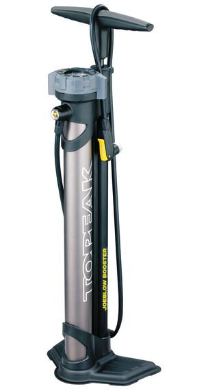 Topeak JoeBlow Booster Pomka rowerowa podłogowa czarny/srebrny